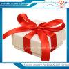 Cajas de regalo de empaquetado de la decoración de la cartulina de la cinta de las ventas al por mayor, cajas de regalo de la Navidad