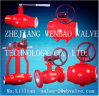 API6d Full Welded Heating Pipeline Ball Valve Pn40