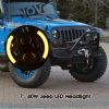 7 LEIDENE van Wrangler van de Jeep van de  Ronde LEIDENE Motorfiets van de Koplamp Koplamp