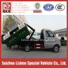 2 desperdícios do braço do balanço da tonelada 4*2 que coletam o caminhão de lixo pequeno de Cbm dos caminhões 3
