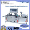 Plastic Film (GWP-300)를 위한 PVC Inspection Rewinding Machine