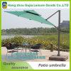 Parapluie excentré de patio de l'encorbellement 10-PI avec la base en plastique
