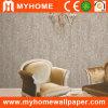 Wallcovering de papel puro con brillo que hace espuma