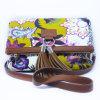 Beatufulの花の印刷PU Tote Handbag革デザイナー女性