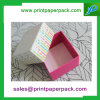 Caja de embalaje de empaquetado modificada para requisitos particulares colorida del regalo del rectángulo de papel de la cartulina cosmética de la joyería de la joyería del chocolate del caramelo