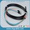 Cuerda de corrección óptica de la fibra impermeable del duplex del solo modo de FC/Upc