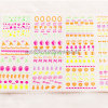 3D Neon Nail Art Sticker Accessories Beauty Products (NPP05)