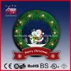 Snow Decoration Wreathの美しいサンタクロースそしてSnowman