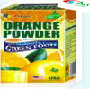 [غريند] طعام ينحل شراب--المسحوق برتقاليّ