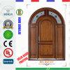 純木の出入口の材木のドア(BN-SW101)