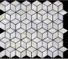 立方体のシェルのモザイク・タイル