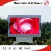 Структура афиши рекламировать экрана полного цвета P10 СИД Viedo напольная