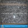 Mattonelle grige naturali della cucina della pietra del granito del fiore del mare per i controsoffitti