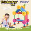 Brinquedos educacionais do enigma dos blocos de apartamentos da casa do parque das crianças