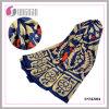 Écharpe élégante de coton de la Turquie d'écharpe de châle de modèle d'art de totem (SNMJ004)
