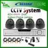 Building Use (BE-9004H4IB)를 위한 Alarm를 가진 P2p 4CH CCTV System