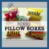 Cajas de la almohadilla de las cajas de regalo del caramelo de la cartulina