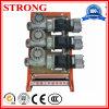 Freno che solleva motore, riduttore, motore dell'attrezzo per la fase Moto del motore 3 della gru della costruzione