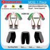 Honorapparel Short Sleeve Sublimation Cycling Джерси с Pad