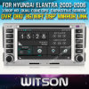 Witson Car DVD Player CD Copy voor van Hyundai Elantra 2000-2006 (W2-D8268Y) met Capacitive Screen Bluntooth 3G WiFi OBD DSP