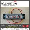 6 zet de Super Dunne Oppervlakte van de diode Koplamp 12-24V op