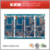 Blue Soldermask LED Fr-4 carte à circuits imprimés PCB 6 couches