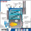 De dubbele Boiler van het Hete Water 4.2MW 1.0MPa van Trommels Biomassa In brand gestoken