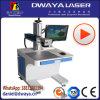 Machine chaude d'inscription de laser de fibre de code à barres des ventes 20W de l'Iran