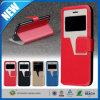 Leichter Schlag Leather Wallet View Window Cover für iPhone 6