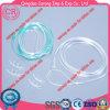 Cannula nasale a gettare dell'ossigeno del PVC dei rifornimenti medici del tubo all'ingrosso dell'ossigeno