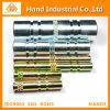 Manicotto zigrinato lavorante personalizzato di CNC di precisione automatica del metallo