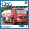 De hete Tankwagen van Trasportation van de Olie van de Assen 6X4 25000L van de Verkoop HOWO 3 5000 van de Brandstof Liter van de Vrachtwagen van de Tanker