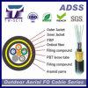 Câble fibre optique ADSS de mode unitaire de noyau de la Tonnerre-Épreuve 48