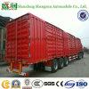Materiaal 50 Ton 3 Axles Cargo Van Truck van het staal en de Aanhangwagen van de Doos