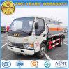 JAC 4X2 4000のLから5000のLオイルの輸送タンクディスペンサーのトラック