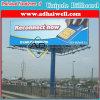Quadro de avisos retangular da coluna de Unipole da mobília da estrada do sinal da forma