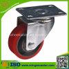 Industrielle Polyurethan-Rad-Feuergebührenfußrollen