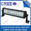 12  20*3W CREE СИД Driving Light Bar, 60W CREE СИД Fog Light Bar, Dual Row Work Light СИД Bar Lighting Flood/Spot/Combo с Color Covers