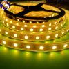 IP65 iluminación de tira flexible del color amarillo SMD LED 5050LEDs