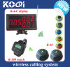 Sistema de 433 MHz de llamadas inalámbrico para restaurante Servicio con CE