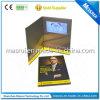 Comercio al por mayor tarjeta de felicitación hecha a mano de 7 pulgadas de vídeo digital de negocios