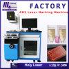 Máquina de la marca del laser del CO2 de la marca de la insignia