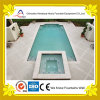 Fontaine rectangulaire luxueuse d'intérieur de piscine de villa