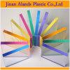 디자인과 전시를 위한 투명한 색깔 아크릴 PMMA 장