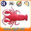 Красный USB Stick Cartoon 4GB Accept Paypal Big Shrimp