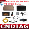 für BMW Icom A2+B+C mit WiFi Cisco Rooter Diagnostic u. Programming Tool