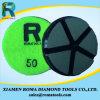 Almofadas de polonês 200# do assoalho do diamante de Romatools