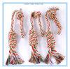 Dientes molares de la mordedura de la cuerda del algodón del entrenamiento que limpian el juguete para el perro y el gato