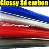 Лоснистое 3D Carbon Fiber Film для обруча Car