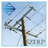 GRP/FRP/Fiberglass電気ポーランド人の十字アーム